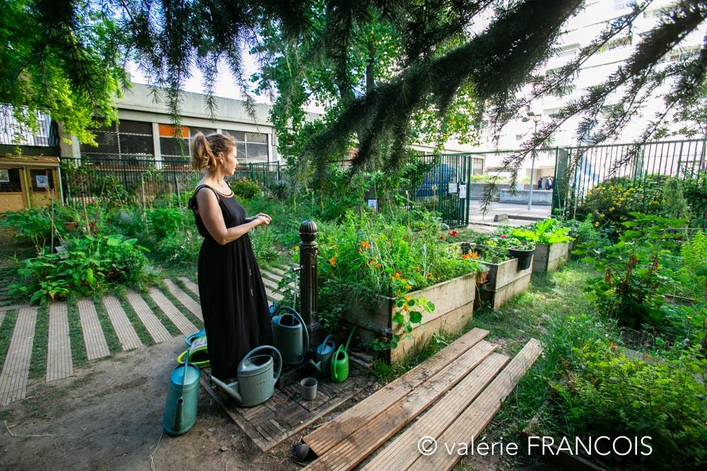 Nous voulons faire de ce jardin un endroit vivant et ouvert, agréable et accueillant.
