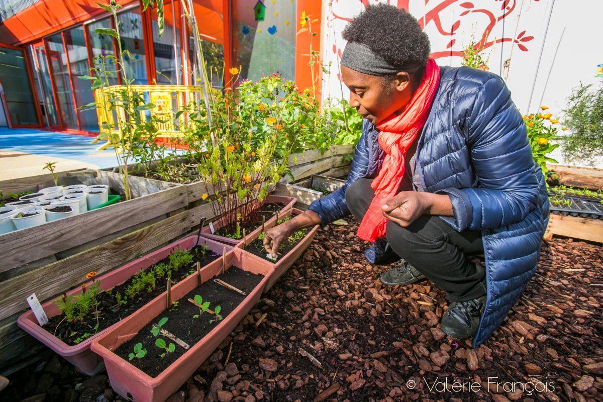 Jardinage en ville : l'histoire de Valéry Tsimba et son jardin nourricier